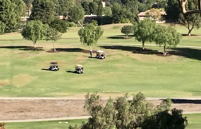 拉古納伍茲山莊高爾夫球場。(本報檔案照)