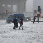 強冷襲紐約 周日起連降雪 最高恐達24吋