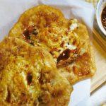 我愛一個人煮/炸蛋蔥油餅與生煎包
