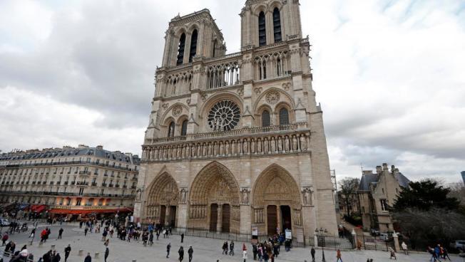 每年有上千萬名遊客造訪巴黎聖母院。路透
