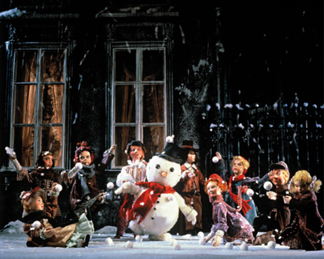 薩爾斯堡木偶劇院的木偶劇深受民眾喜愛。(法拉盛文藝中心提供)