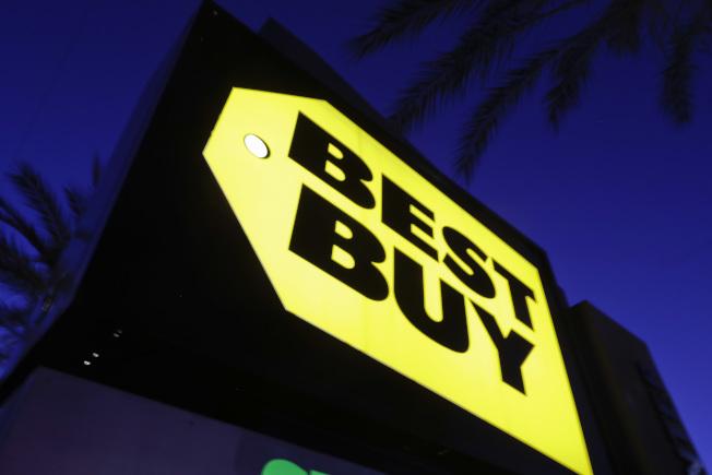 今年「網購星期一」包括百思買等零售業者均有推出折扣商品。(美聯社)