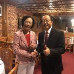 中華會館2020正副主席參選人廖美華和李金生談政綱