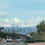 聖蓋博山白了頭 洛杉磯最美風景線