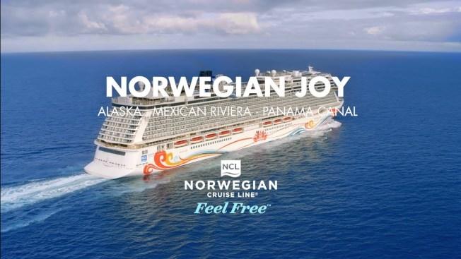 挪威喜悅號(Norwegian Joy)遊輪2017年4月建造完成後以西雅圖為基地,專門航行阿拉斯加航線,今冬與明年春天暫停洛杉磯,明年10月轉往邁阿密,航行加勒比海航線。(挪威遊輪公司)
