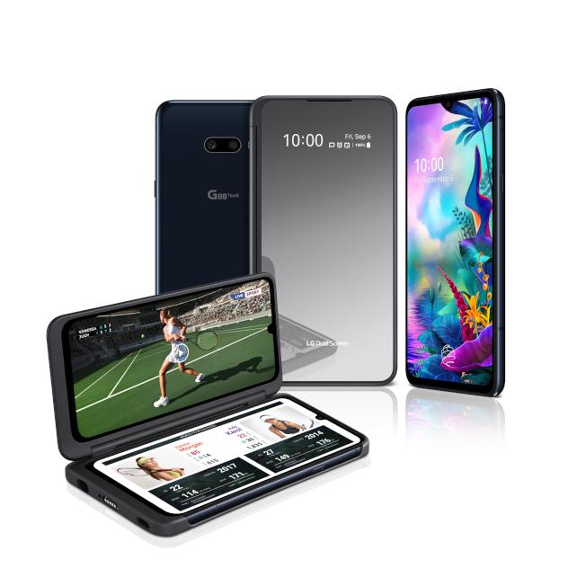 LG雙螢幕手機 自拍不怕「臉上無光」