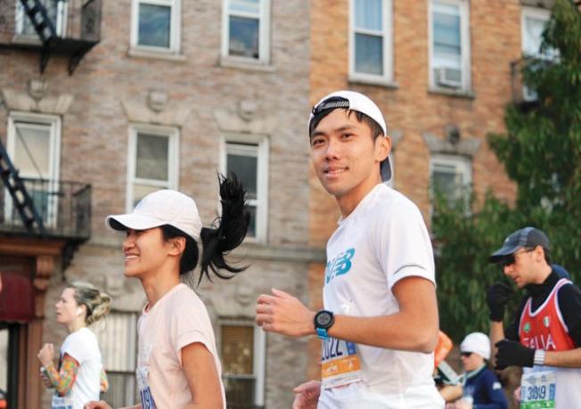許立杰透過科學化的訓練,幾年時間進步非常大;他說,跑步的訓練讓他改變很多;身體之外,心理上也不同了(圖)。(許立杰提供)