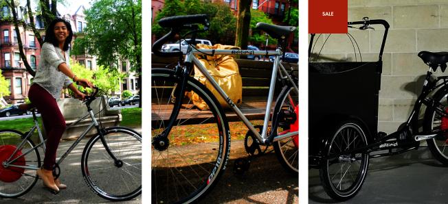 製造一輛1萬元梭羅警用單車的 1854 Cycling 公司也製造普通電子單車,價格2700、3300元不等。(取自該公司網站)