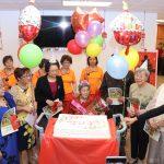 張傳璧慶百歲 長樂活動中心祝壽