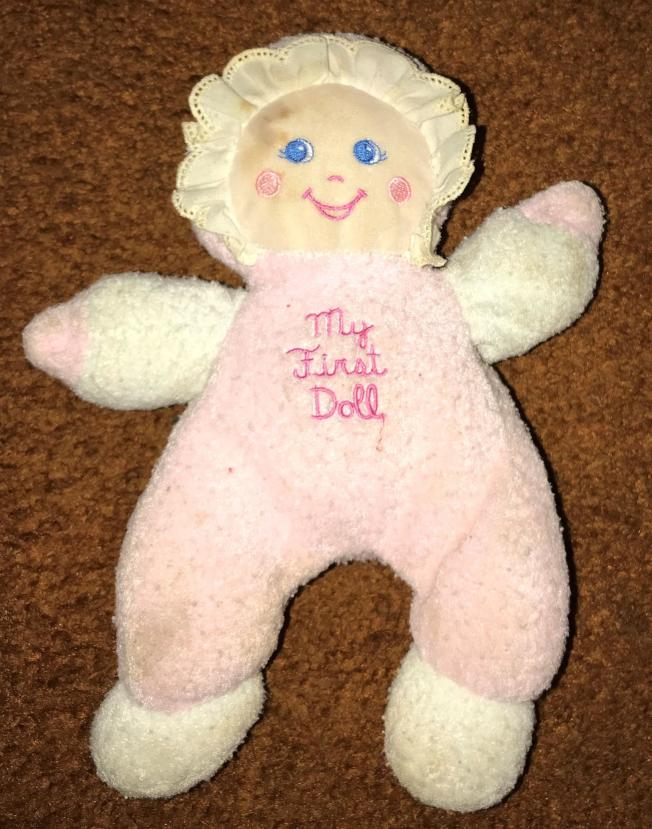 作者女兒的粉紅娃娃。