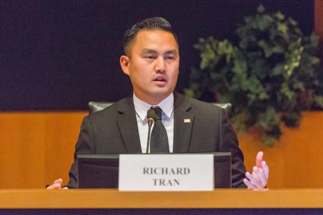 密爾比達市長陳理查提出改變副市長任期的提議。(取自陳理查臉書)