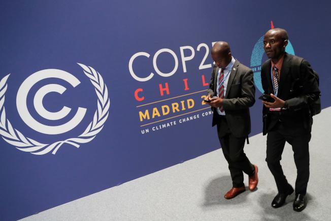 氣候變遷大會2日在馬德里登場。(路透)