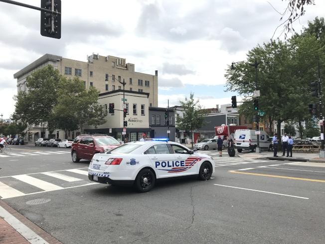 華盛頓特區在全美最安全城市排名中靠後,尤其社區安全方面。(記者羅曉媛╱攝影)