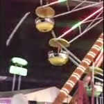 摩天輪樑柱脫落 嚇壞遊樂園遊客