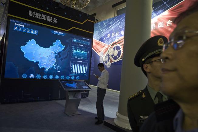 中國在2015年發布「中國製造2025」行動計畫,希望成為全球製造業強國。美聯社
