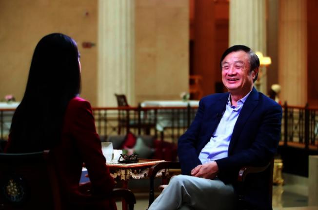 華為公司的網站「華為心聲社區」3日發布華為創辦人任正非11月26日接受CNN採訪。取材自華為心聲社區網站