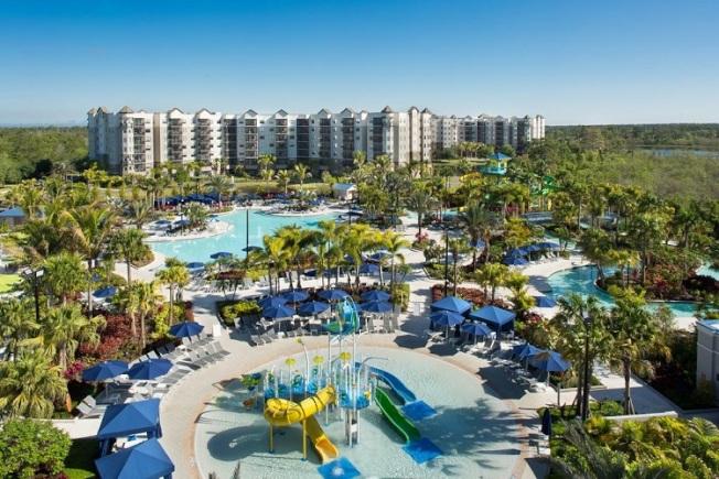 建商以2000萬元打造奧蘭多樂國酒店式度假村的大型水上樂園。(取自樂國網站)