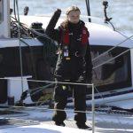瑞典環保少女搭船抵里斯本 錯過氣候峰會揭幕及遊行