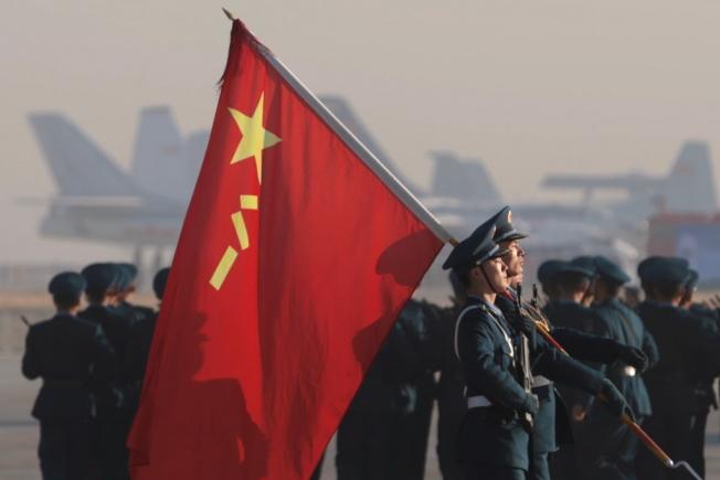 中國人民解放軍。路透