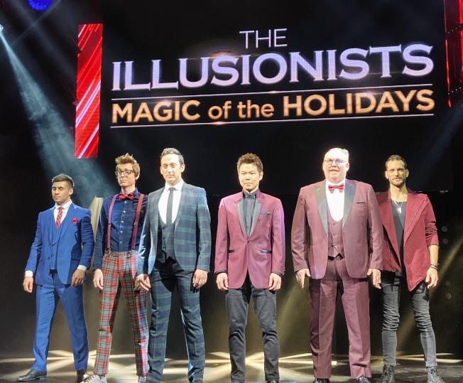 來自世界各地的六位魔術師將為觀眾帶來新奇刺激的百老匯魔術表演。(記者鄭怡嫣/攝影)
