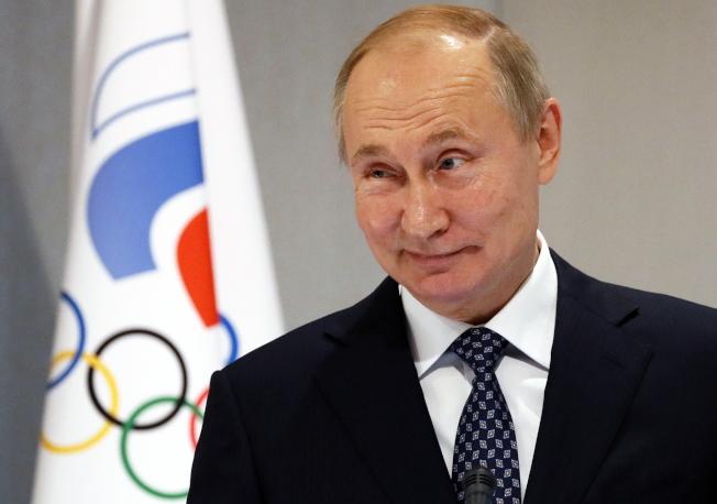 俄國總統普亭。歐新社