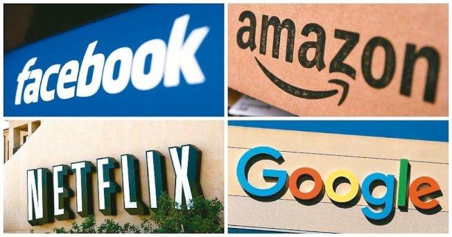 法國向Google、NETFLIX、臉書、亞馬遜等美企開徵數位服務稅,引起美國威脅加徵關稅。 路透