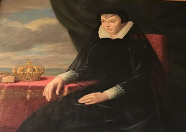 穿黑服的凱瑟琳皇后。(圖皆為作者提供)