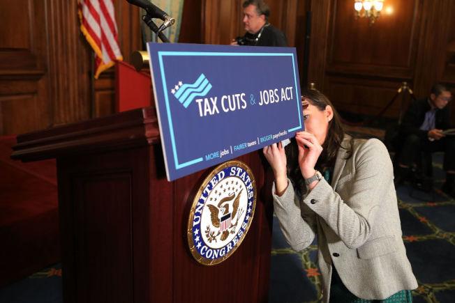 「減稅與就業法案」 效期將於 2025年12月31日結束。(Getty Images)