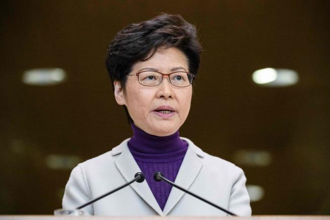 特首林鄭月娥3日說,香港會配合北京反制美國。(Getty Images)