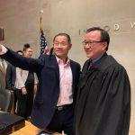 譚輝立宣誓就職 成為第五位州高等法院華裔法官
