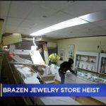 賊駕卡車撞破牆 珠寶店遭竊損失20萬