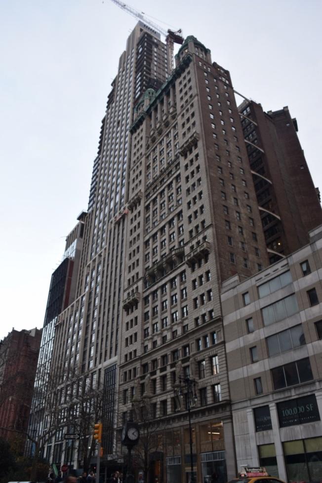 位於曼哈頓下城的Barclay交Church街一帶值得投資者考慮,該地房屋空置率是12.9%。(記者顏潔恩/攝影)