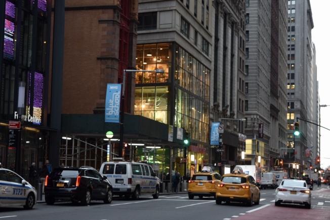 曼哈頓Madison大道交東60街一帶升值率高,房產和租金都比一般平均價格高。(記者顏潔恩/攝影)