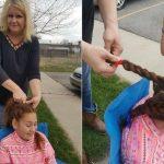 校車司機每天為喪母小女孩編髮 感動千萬人
