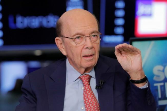 美國商務部長羅斯稱,華為鼓勵美國供應商把業務移至海外,規避黑名單管制。(路透資料照片)