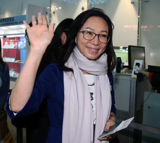 國民黨總統參選人韓國瑜妻子李佳芬5日將出訪美國,代夫出征向僑胞催票。(本報資料照片)