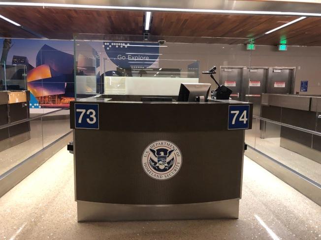 拿到美國簽證不代表能順利入境美國海關。(本報記者/攝影)