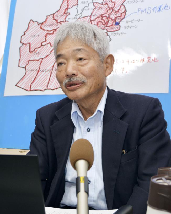 在阿富汗行醫超過30年的日本醫師中村哲,4日遭槍手攻擊身亡。(路透)
