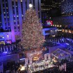 紐約最大耶誕樹 洛克菲勒中心亮燈