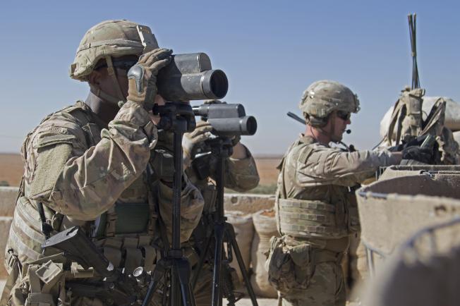 美國傳出考慮增兵至中東地區。(美聯社)