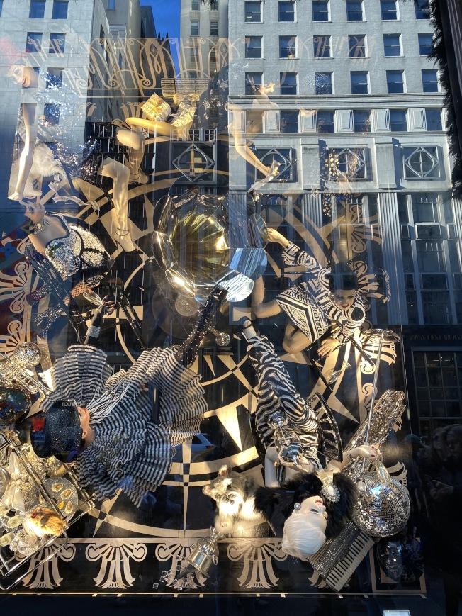 Bergdorf Goodman櫥窗秀一向具有創意和藝術性。(記者金春香/攝影)