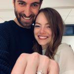 艾瑪史東訂婚了!情定製片男友 燦笑曬閃亮鑽戒