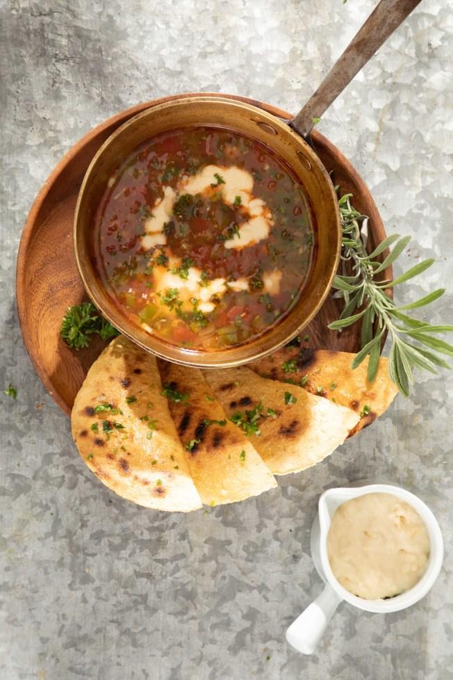 法西達辣味乳酪湯。(圖/帕斯頓提供)