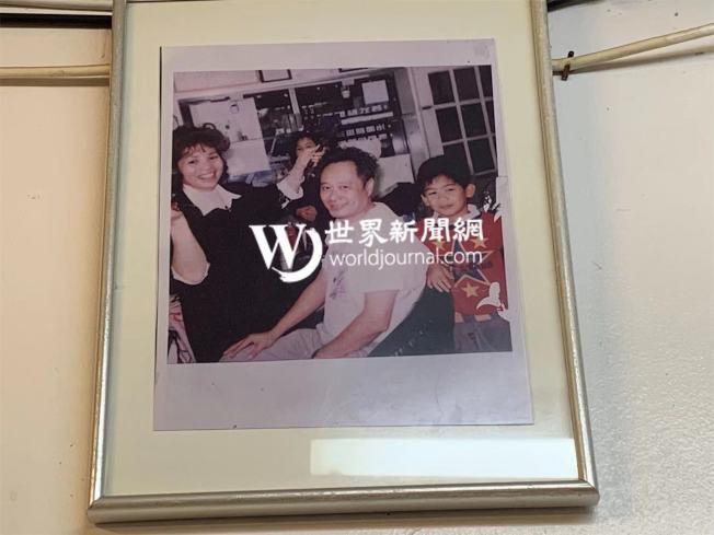 林月娥曾為李安一家人理髮。(記者牟蘭╱翻攝)