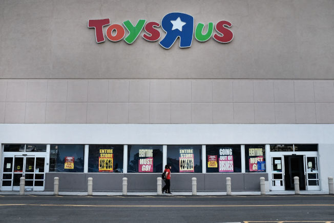 這家全美最知名的玩具店去年倒閉。(Getty Images)