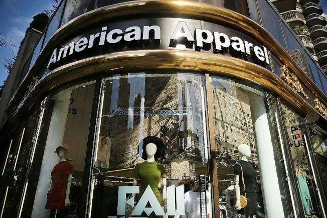 American Apparel一度在全球開設近200家分店。(Getty Images)