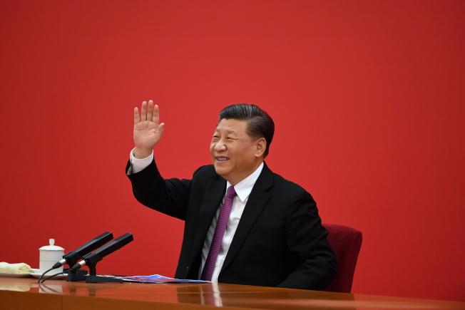 美國皮尤研究中心調查出,全球民眾對中國好惡意見分歧,圖為中國國家主席習近平。(歐新社)