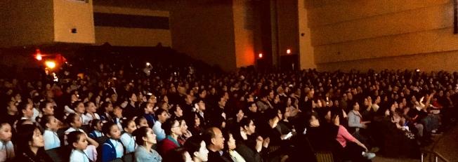 華府2019歲末歡慶晚會:大地飛歌II舉行。(記者陳小青/攝影)