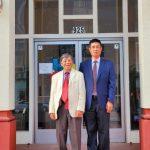 聶澤英、謝伯煥 競選中華會館正副主席