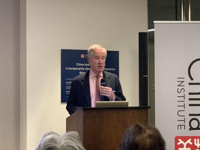 拉迪表示,中美脫鉤的結果可能是美國與世界脫鉤。(記者和釗宇/攝影)